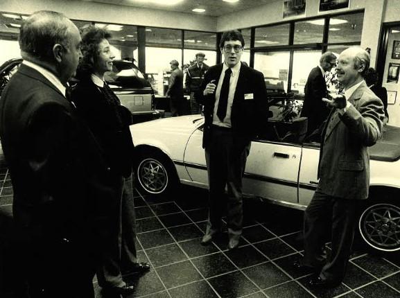 Puklich Salesmen discussing